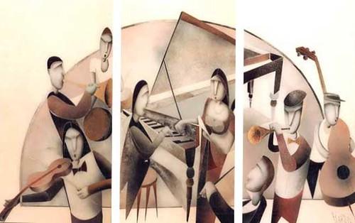 Concierto 11    Painting - Original - Plexiglass