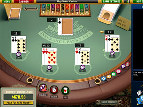 Multi-Hand Blackjack Strategy