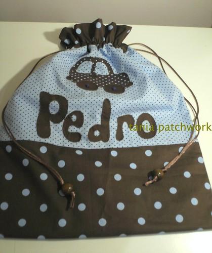 Saquinho de roupa suja Menino by tania patchwork