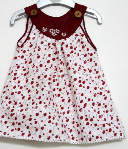 Sew - Cherry Print Dress