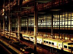 Catedral de vapor y acero (Visual.Flame) Tags: station train tren lights luces photo steel cadiz cristal acero stacin lvrphotografies