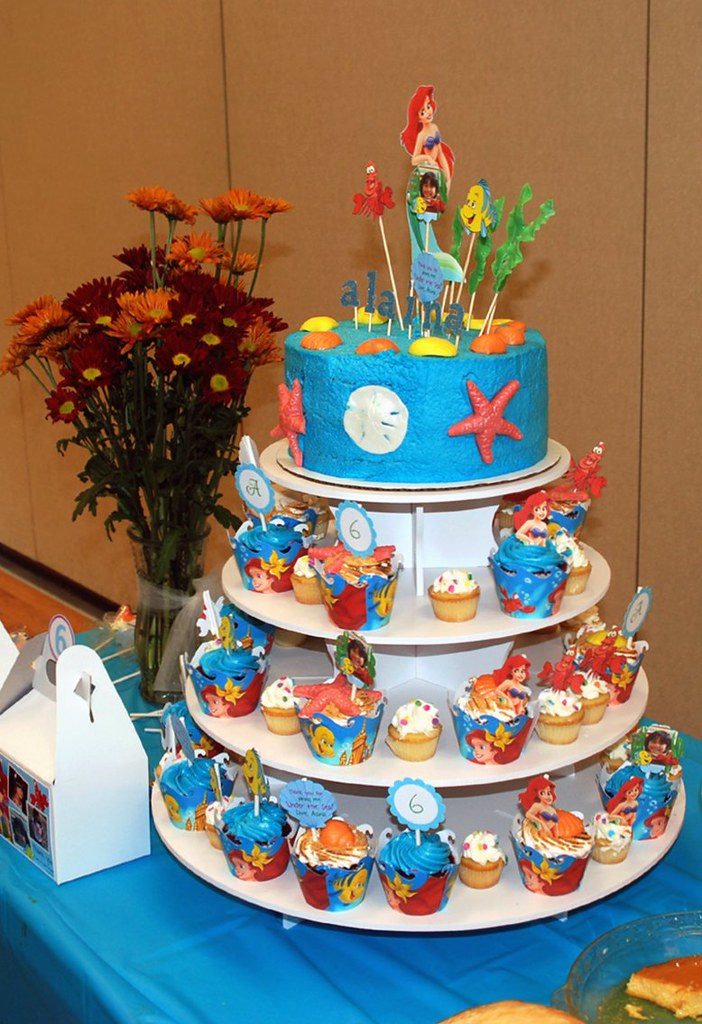 6 Bittersweets Under the Sea Little Mermaid Birthday Treats