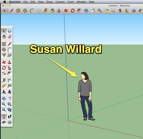Susan Willard in Google SketchUp