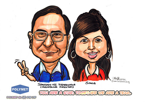 Caricatures for Polymet - 17