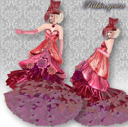 RIKKA-gown