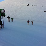 DH training in Portillo, Chile 2011
