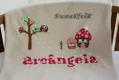 ♥♥♥ Para a Arcângela ... by sweetfelt \ ideias em feltro
