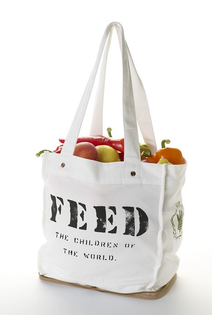 foldable feed bag