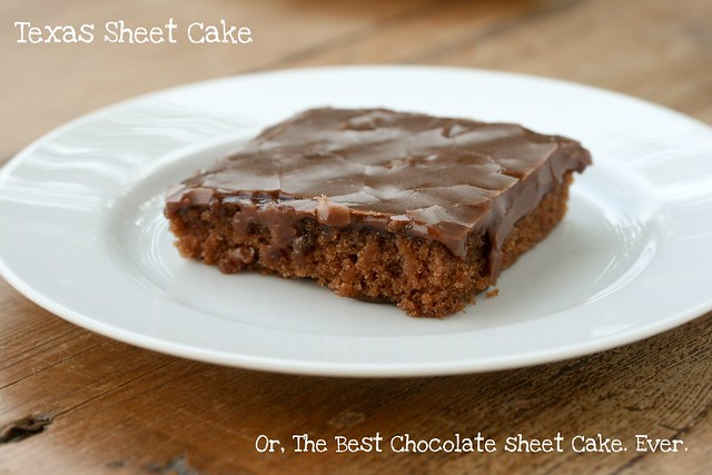 ... Sheet Cake or Pioneer Woman's The Best Chocolate Sheet Cake. Ever