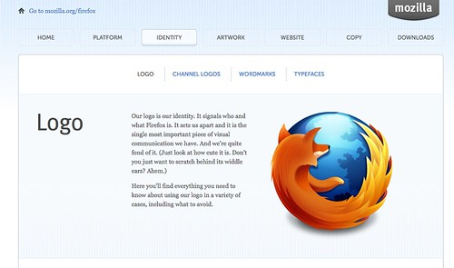 Firefox Brand Toolkit: Logo Page