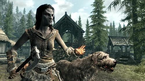 PS3: Dark Elf Female - Skyrim
