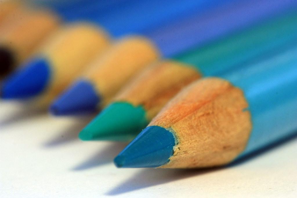 shades of light blue