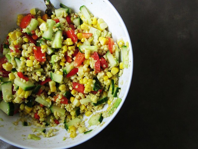 Spicy Corn Salad, take 1
