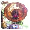 Blackie and vintage record player (One Love Cottage) Tags: cute toys dolls handmade crafts crochet plush kawaii amigurumi crocheted crochetdolls amigurumidolls amigurumitoys crocheteddolls