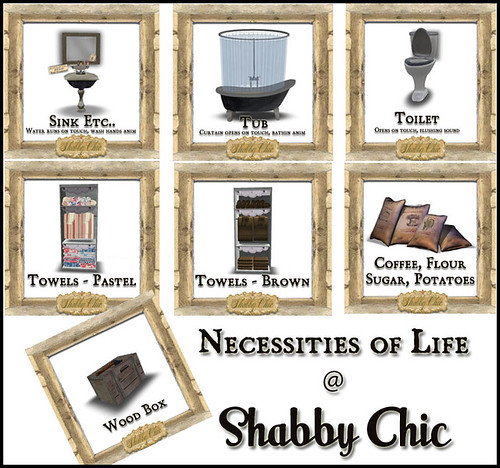Shabby Chic - Necessities of Life