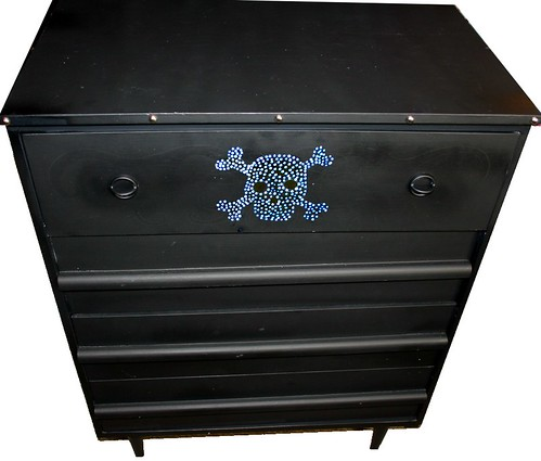 "Four Drawer Dresser 28"" x 16"" x 37"" by Rick Cheadle Art and Designs"