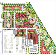 Miraflores site plan (courtesy of Ted Bardacke, Global Green USA)