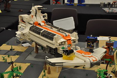 Numereji 2421: The Ark (Yupa-sama) Tags: lego display convention 2011 2421 brickcon numereji