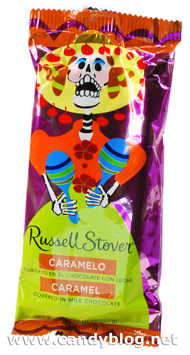 "Russell Stovers ""Day of the Dead"" Chocolate Covered Caramel"