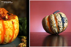 Before and After (Hound of Culann) Tags: dinner squash product flickrchallengegroup flickrchallengewinner