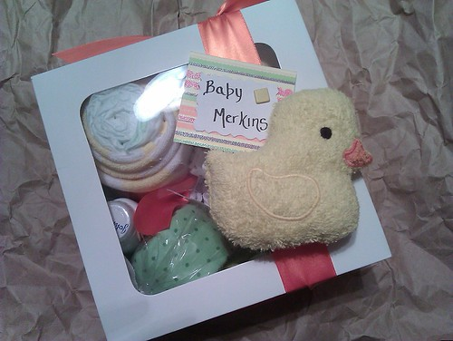 {Baby Shower Gift} by MeshedDesigns