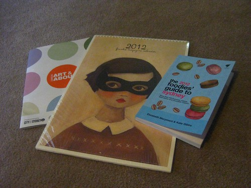 Frankie Calendar, Foodies Guide to Sydney 2012