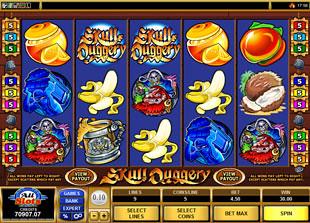 Skull Duggery slot game online review