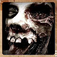 Dr. Satan's patient (AtotheNA) Tags: eye halloween tongue insane scary october mask jaw teeth eerie patient teen gross gore disgusting horror bloody sick twisted october31 drsatan 2011 mough project33
