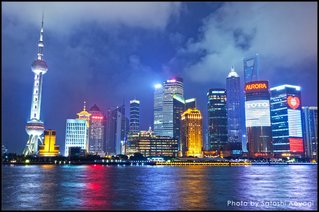 上海・外灘の夜景