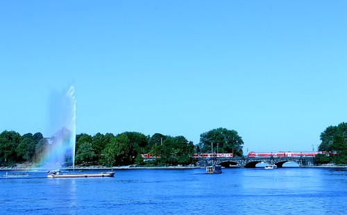 Alster and Rainbow