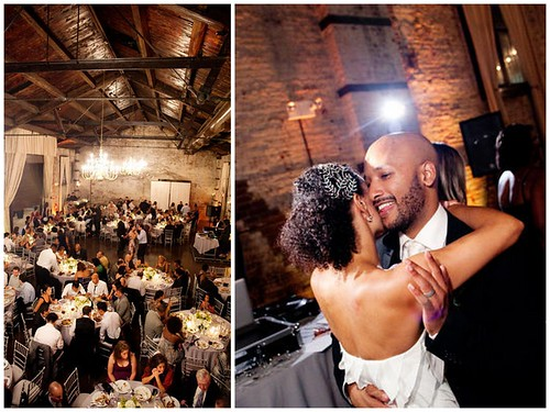 The+Green+Building+Wedding+dancing, Brooklyn+wedding, unique+crystal+bridal+hair+comb