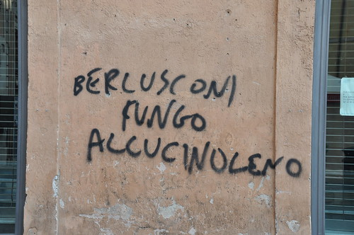 Roman tags - Berlusconi hallucinogenic mushroom