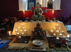 Liverpool Buddhist Centre new shrine