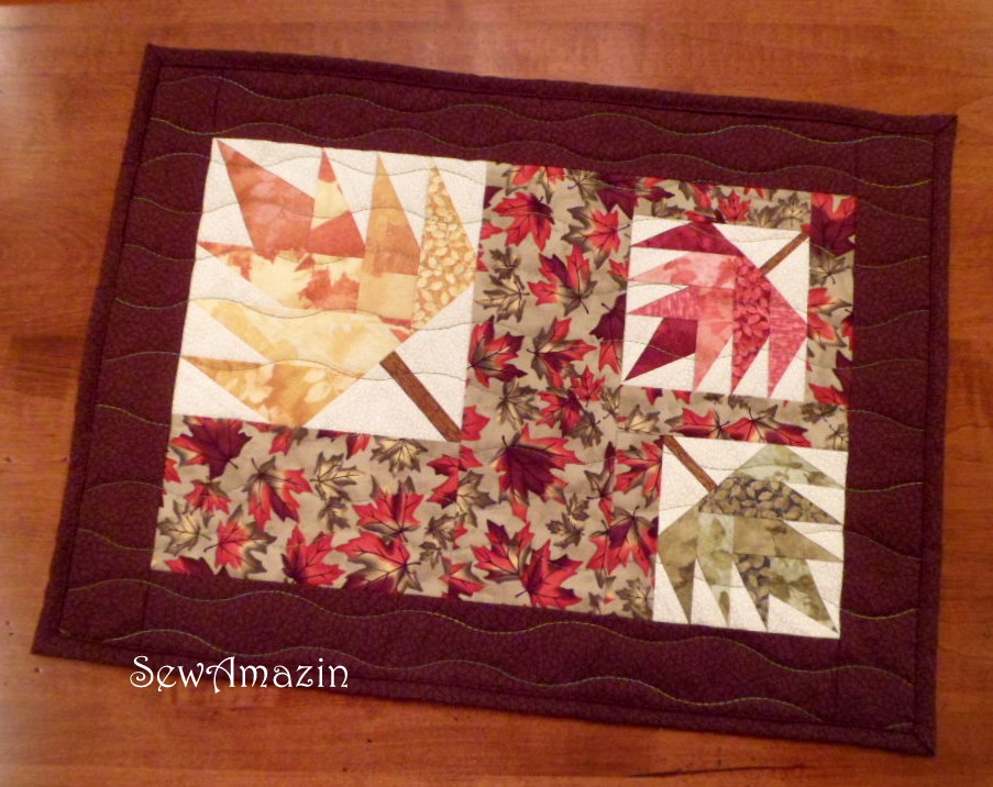 Maple Madness Placemats