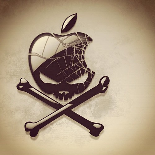 The only real Pirate of Silicon Valley #stevejobs #rip