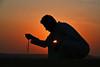Playing With Sand Silhouette (TARIQ-M) Tags: texture silhouette landscape sand waves desert dunes riyadh saudiarabia بر الصحراء canonefs1855 الرياض صحراء رمال رمل طعس كانون المملكةالعربيةالسعودية canon400d الرمل خطوط صحاري نفود الرمال كثبان براري تموجات تموج نفد