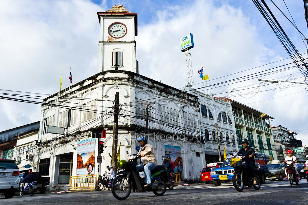 Clock Tower @ Phuket Town, Thailand