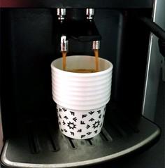Morgonkaffet (TinaOo) Tags: coffee espresso kaffe filippak fotografiska fotosondag sakerhet fs111009