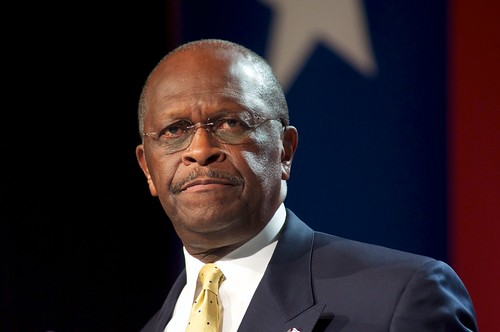 herman cain is a sober visionary