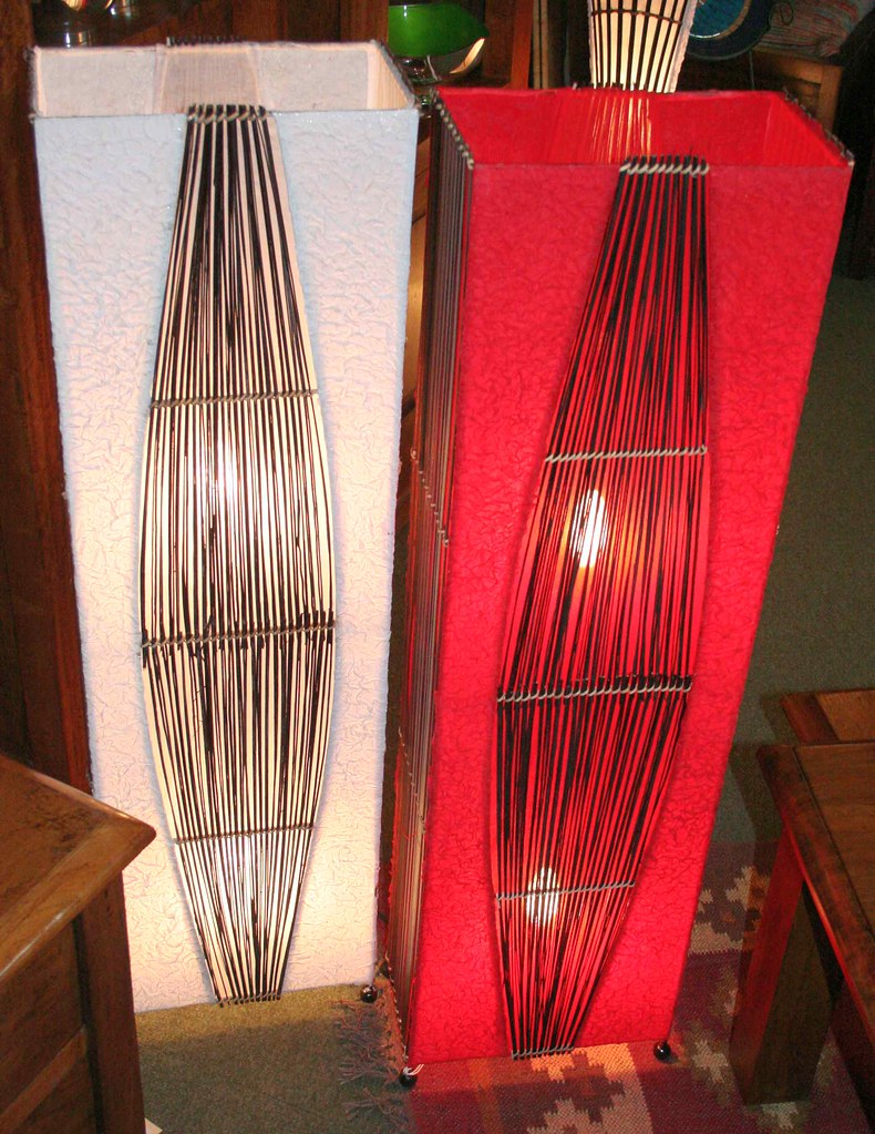 Scrunch Tower Lamps
