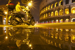 point zero (maybemaq) Tags: light vacation italy holiday man rome roma reflection heritage tourism window water fountain bike night lights italia nightlights roman geometry tourist double symmetry mp3 september colosseum motorbike midnight moto motorcycle destination curve rider touring biketour makoto lazio waterreflection colosseo 3wheels motorino pointzero biketouring piaggo 2011 wetreflection digitalcameraclub maybemaq lightenedup piaggiomp3 colorphotoaward roadtorome yourban stradaperroma blinkagain roadtoroma piaggino