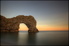 Arch (Ben Locke (Ben909)) Tags: longexposure sea coast arch dorset durdledoor nd110