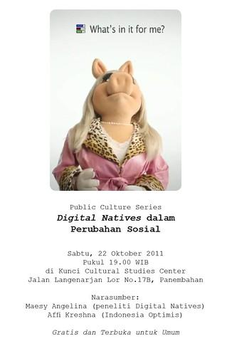 Digital Natives dalam Perubahan Sosial