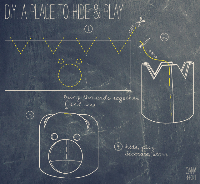 a place to hide and play | indications