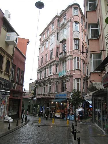 Galata street scene