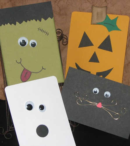 Ink Stains 4 Quick Easy Halloween Cards
