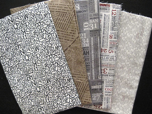 wordy from Fat Quarter Shop