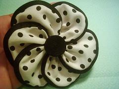 PAP Flor de Tecido (Louise Gusmão) Tags: flor pap molde tecido papfloretecido