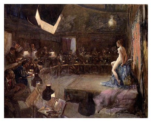 025-La escuela de arte-John P. Gulich-The Royal institute of painters in water colours 1906- Charles Holme by ayacata7