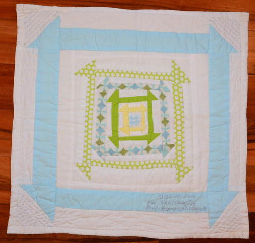 DQS11 Sweet Dreams Quilt - back - made for me by Karen (karensc0sm0s)